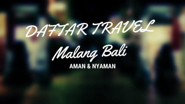 Cara Pembayaran Travel Malang Bali
