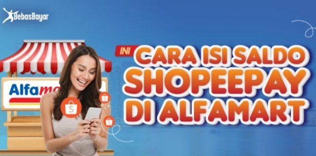 Cara Mengisi Saldo ShopeePay Lewat Alfamart