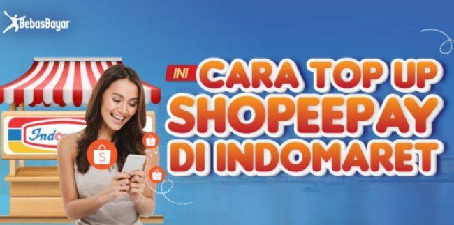 Cara Mengisi Saldo ShopeePay Lewat Indomaret