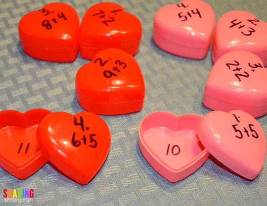Sweet Math Activities For Valentine S Day