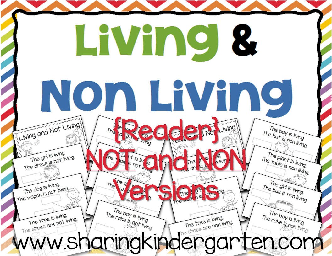 Living And Non Living Reader