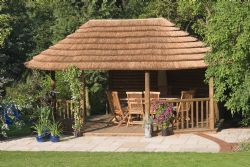 Thatched Outdoor Kitchen