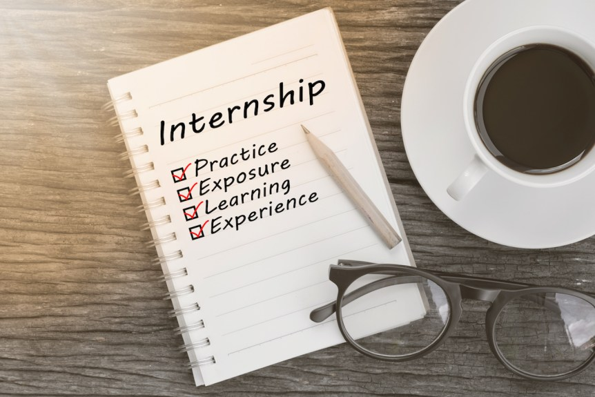 winter internships search