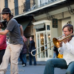 New Orleans buskers