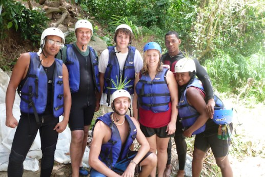 River Rafting in Jarabacoa, Dominican Republic