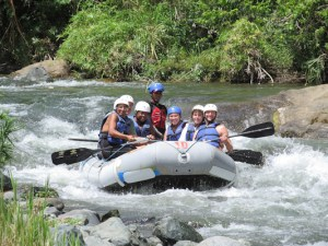 Shari white water rafting in Jarabacoa, Dominican Republic