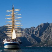 Royal Clipper in Montenegro