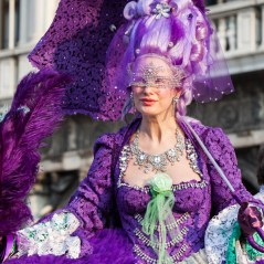 Costumes in Venice, Italy