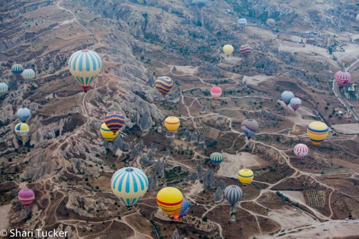 Hot Air Ballooning, Cappadocia, Turkey