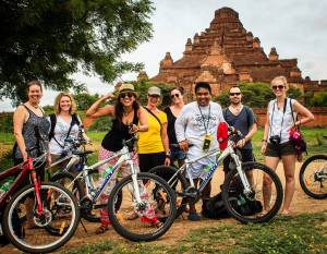 Cycling in Bagan with Tucan Travel