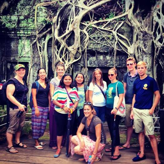Visiting Angkor Wat in Cambodia