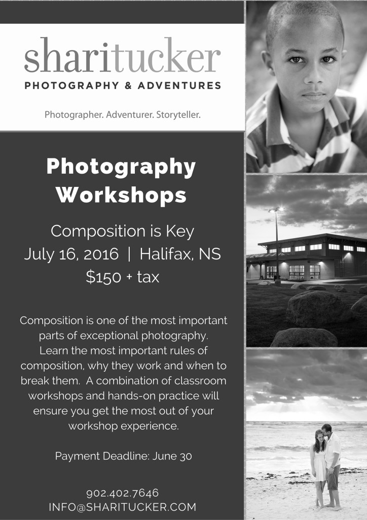 PhotoWorkshop - Composition Is Key