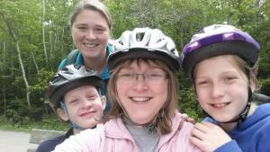 Cycling with the family