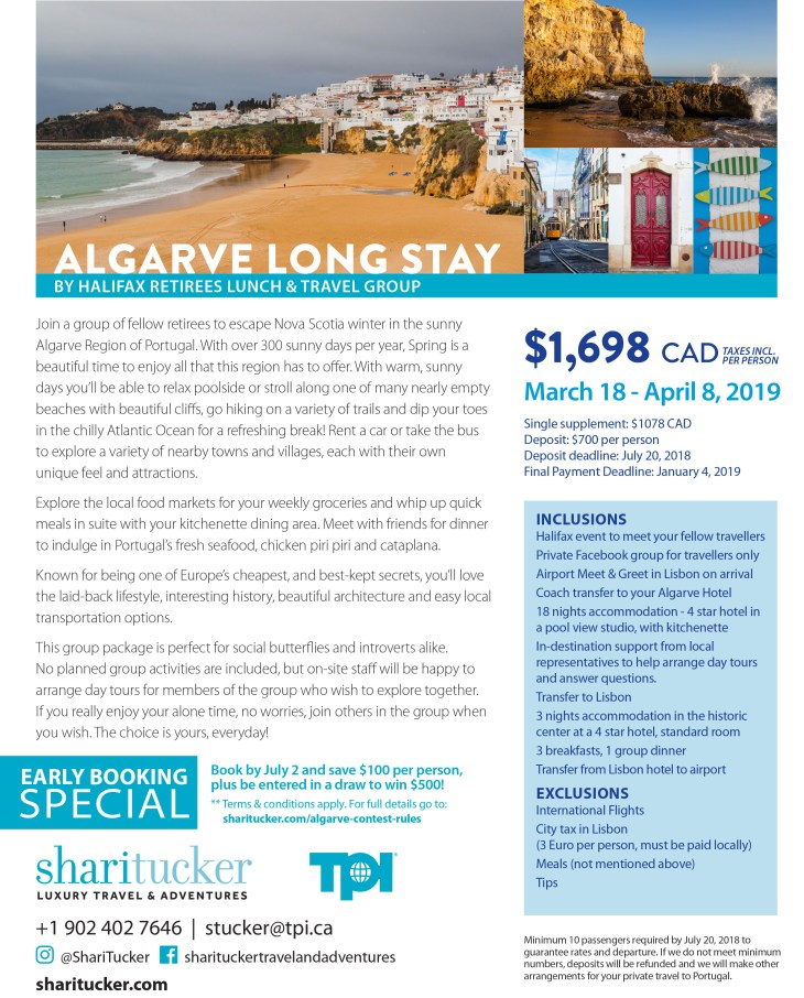 Algarve Long Stay 2019