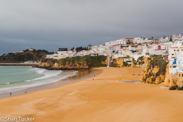 Beaches in Albufeira, Portugal