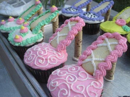 High Heeled Shoe Cupcakes Confessions