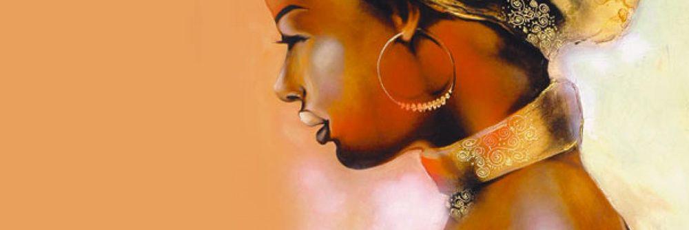Quadri etnici  paesaggi immersi nel sole e motivi africani su Artgeist