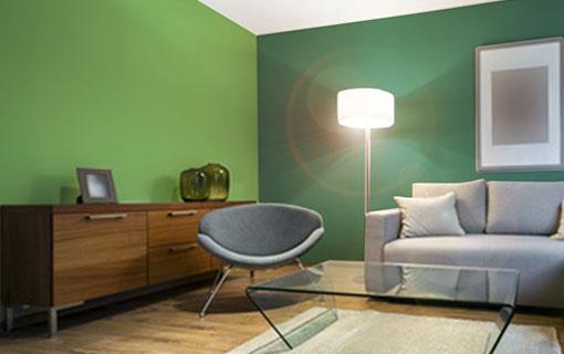 Scopri le nostre idee per trovare quadri perfetti per le pareti verdi