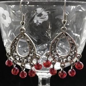 Bali Style Chandelier Earrings