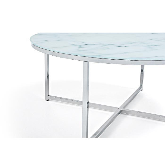 Table Basse Marbre Ronde Table Basse Bouillotte