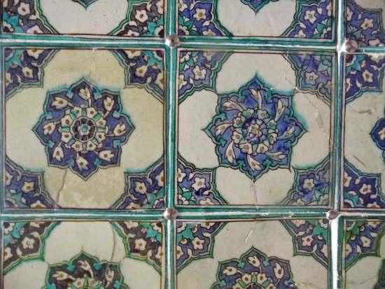 Topkapi Palast, Istanbul: handbemalte Iznik Kacheln