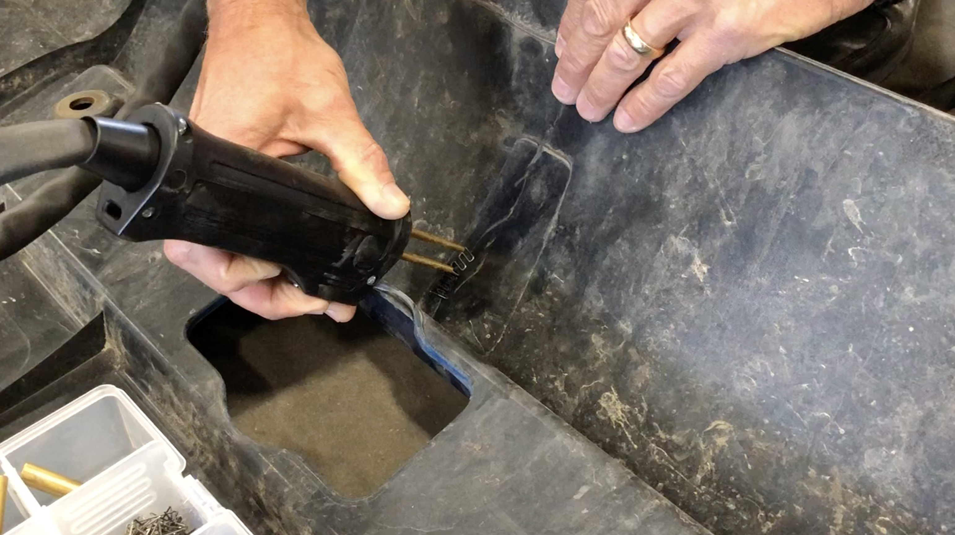 Shark Industries' Pro Tack Plastic Welder: The Solution for Repairing Plastic Components on Heavy Duty Trucks