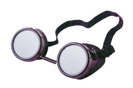 Shark 14301    Light Green Plastic Goggles