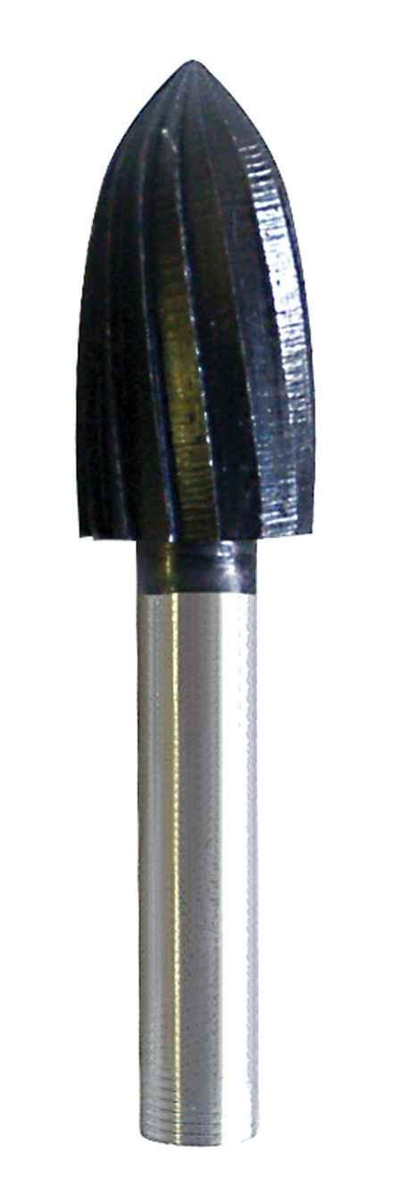 Rotary File made of High Quality Steel – Round Tree – 1/2″ x 1″ x 1/4″ mandrel.