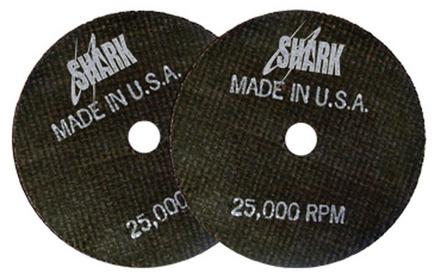 Cut-off Wheel – Aluminum Oxide – 3″ x 1/32″ x 3/8″ 60 Grit – 10 pack.