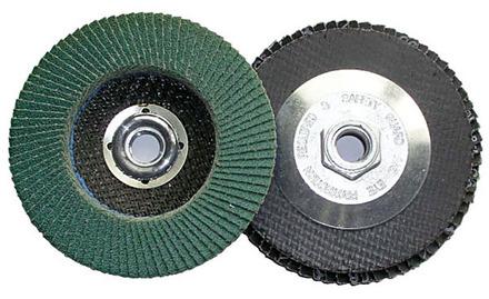 Flap Disc – Type 27 Aluminum Oxide 7″ x 7/8″ arbor – 36 Grit .
