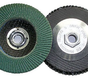 Shark 13140    7-Inch by 0.875-Inch Zirconia Flap Disc Grit-36