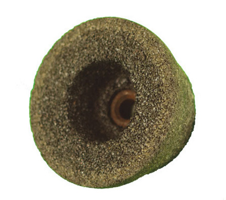 Type 11 Coarse Cup Style Grinding Wheel – 4/3″ Diameter x 2″ Height x 5/8-11 NC Arbor.
