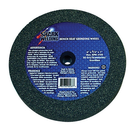 Bench Seat Grinding Wheel-6″x 1″ 80 Grit