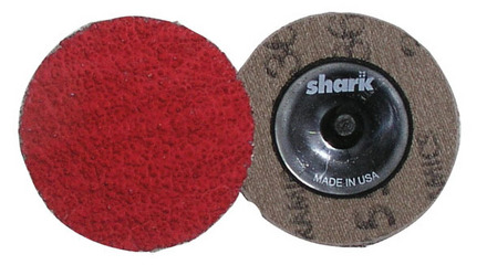 Mini Grinding Discs with Twist-to-Lock Backing – Ceramic 2″ 40 Grit. 25 pack.