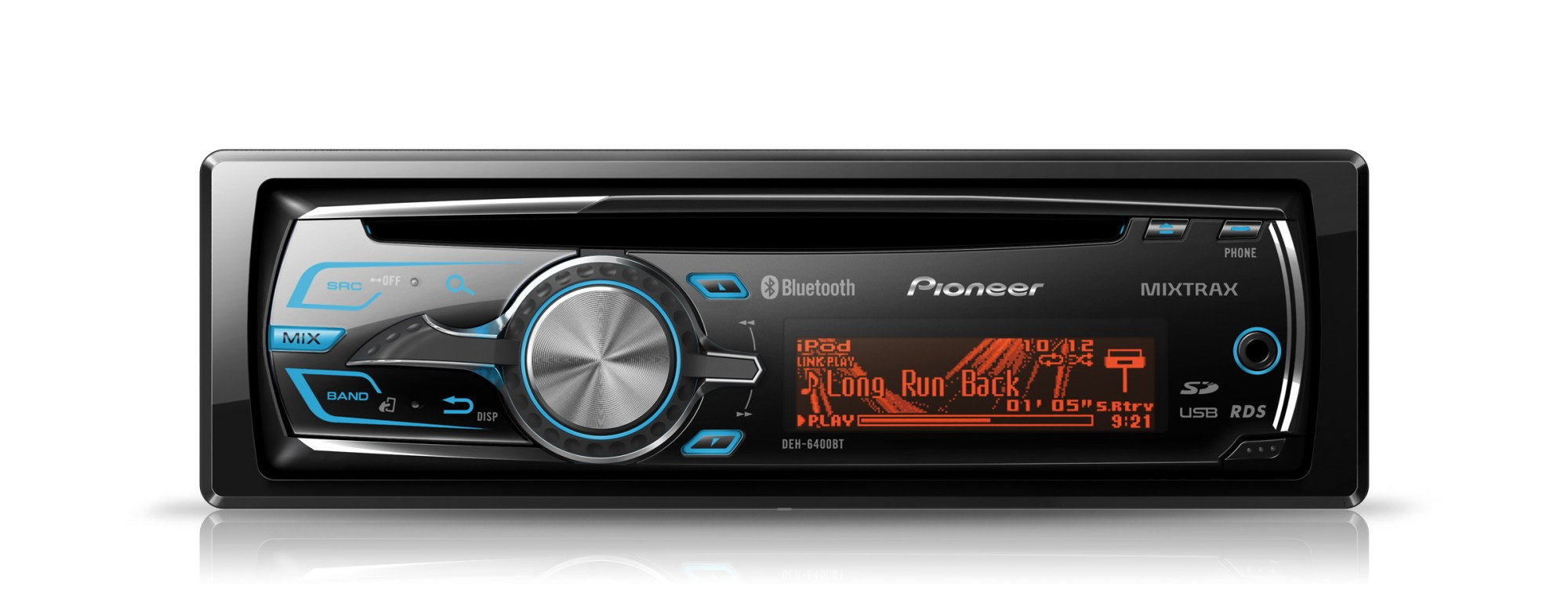 hight resolution of stock image of the pioneer deh 6400bt