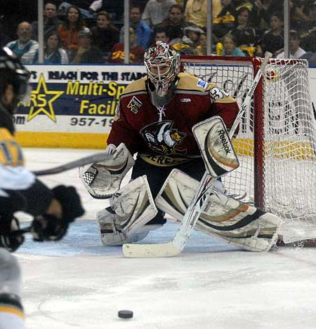 Tonights 2011 ECHL Allstar Game in Bakersfield marred by