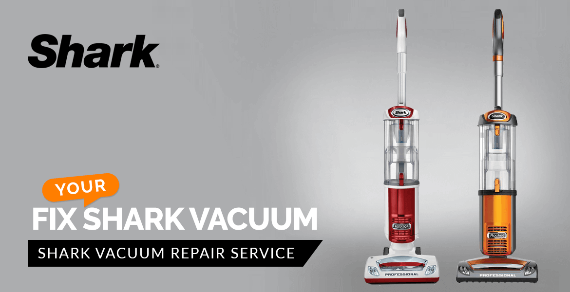 Fix Your Shark Vacuum Banner