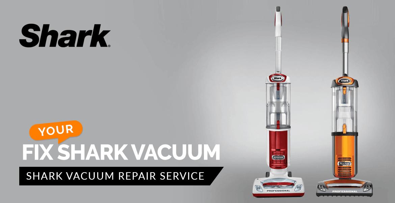 Fix Your Shark Vacuum Banner