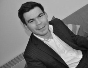Hugues Courcier, fondateur de Sharky Data