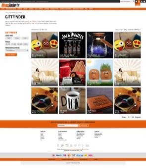MegaGadgets Webdesign 3.0 - Giftfinder
