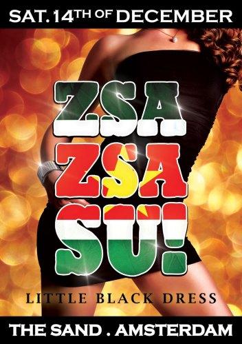 Zsa Zsa Su! Little Black Dress Front Flyer
