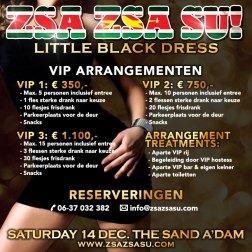 Zsa Zsa Su! Little Black Dress Vip arrangementen