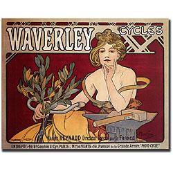 Waverley Cycles, Alphonse Mucha