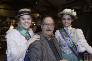 My dad and a couple of suffragettes