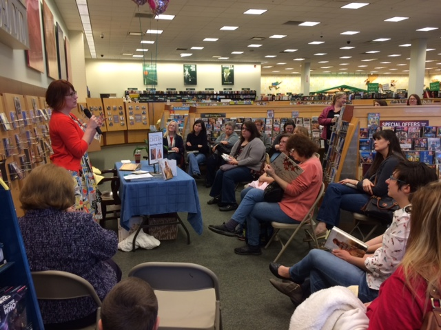 Launch event at Barnes & Noble, Valpo, IN.