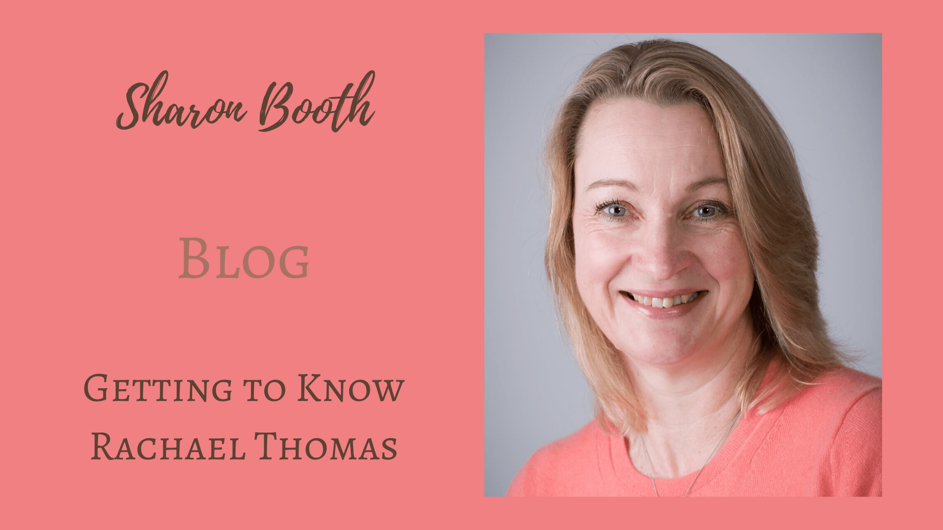 Getting to Know: Rachael Thomas