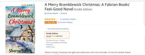 Bramblewick Christmas bestseller sticker