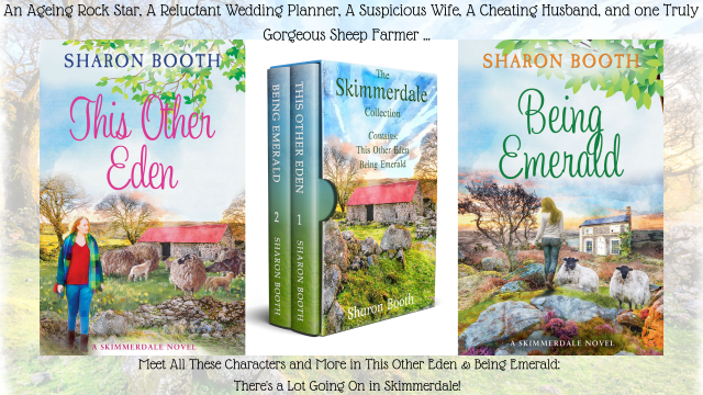 An Ageing Rock Star, A Reluctant Wedding Planner, A Suspicious Wife, A Cheating Husband, and one Truly Gorgeous Sheep Farmer ...