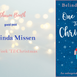 Writing One Week 'Til Christmas by Belinda Missen