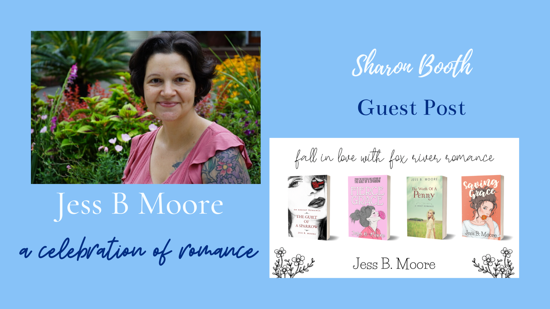 You are currently viewing A Celebration of Romance by Jess B Moore